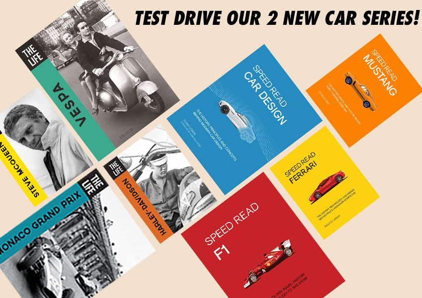 Test Drive 2 New Series From Motorbooks
