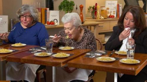 Yahoo News: Italian Grandmother Taste-Tests 3 Different Pastas