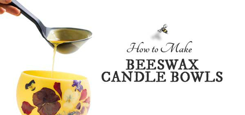 Empress of Dirt: How to Make Beeswax Candle Bowls