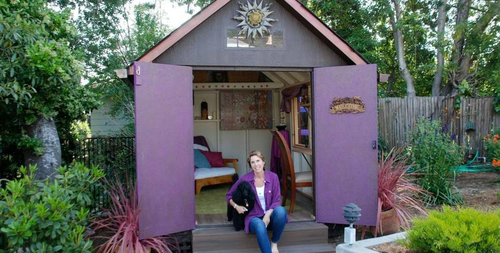 "Sacramento Bee: ""She Sheds"" – Space for Fun, Creativity, Relaxation and Escape"