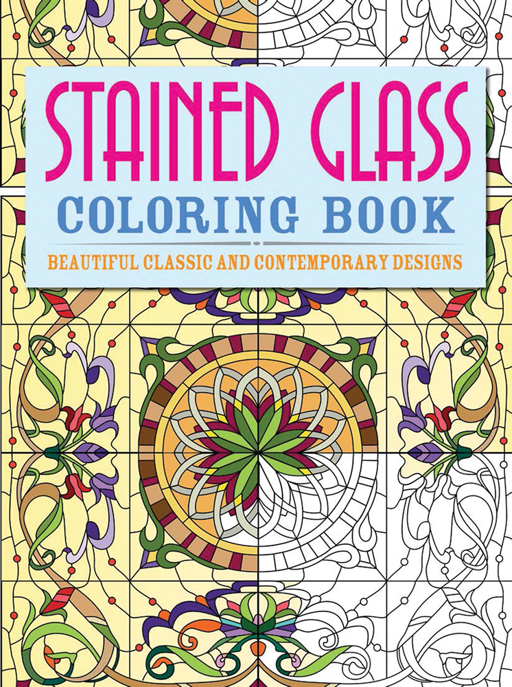 rain forest animals stained glass coloring book dover stained glass coloring book