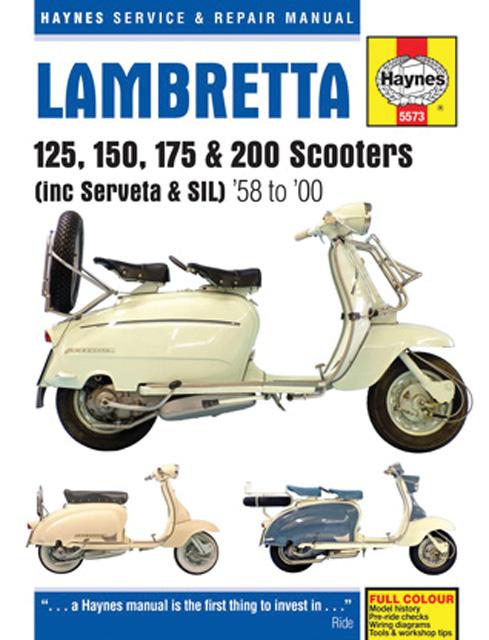 Lambretta 125  150  175  U0026 200 Scooters By Editors Of