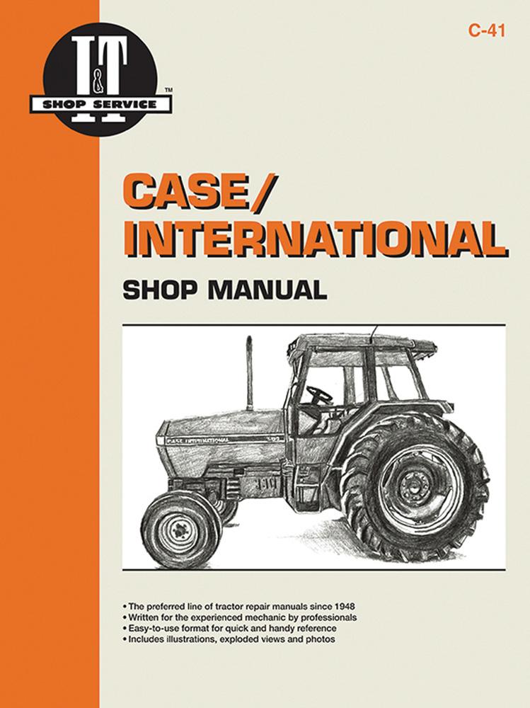 Case International Shop Manual Models 5120 5130 Amp 5140 By