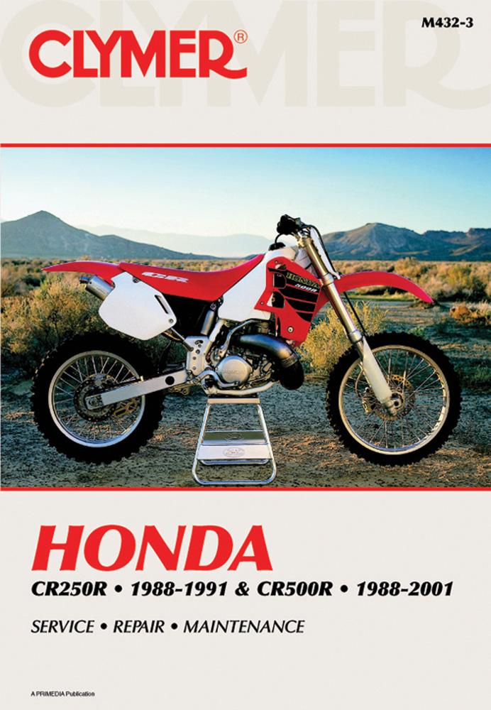Honda Cr250 1988 1991 Cr500r 1988 2001 By Panton Staff