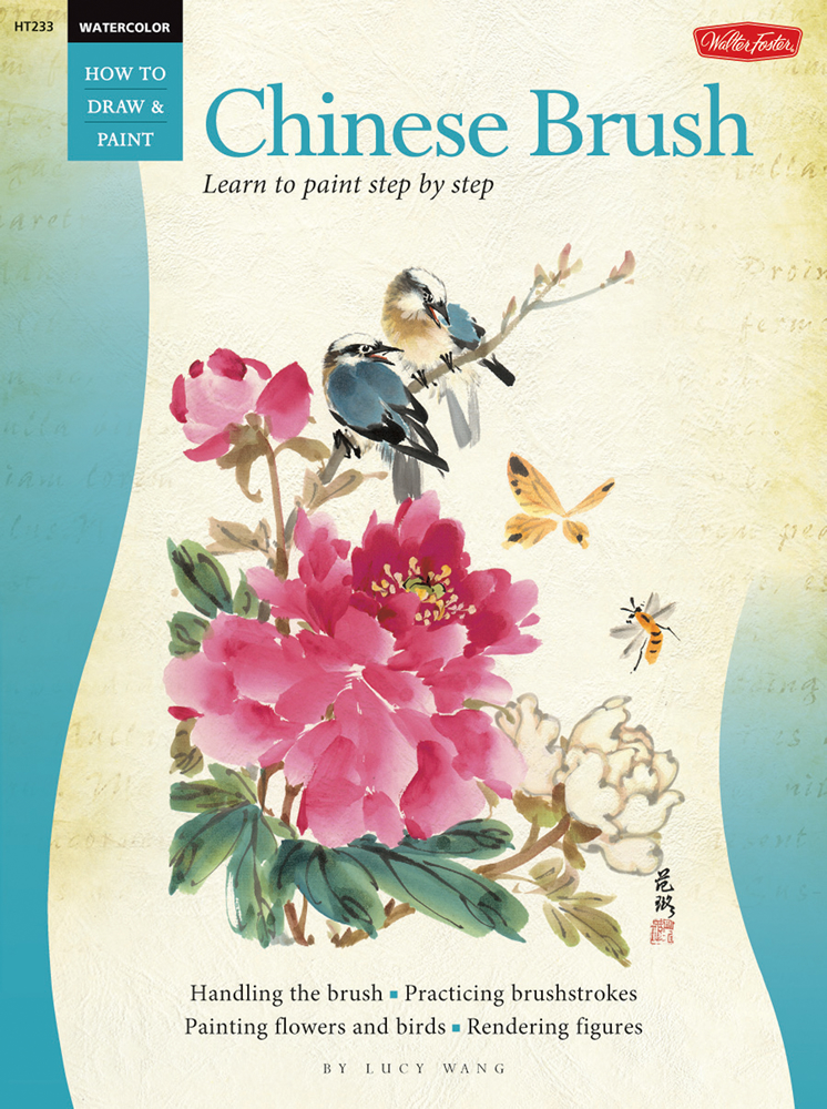 Book Cover Watercolor Brushes : Watercolor chinese brush by lucy wang