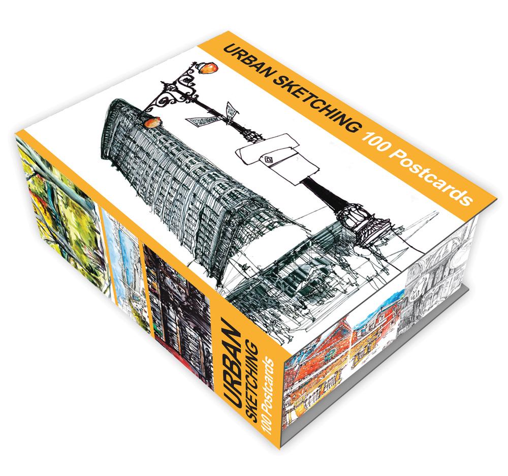 Urban Sketching 100 Postcards | Quarto Gifts Books