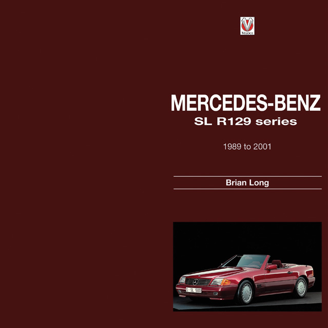 Mercedes benz by brian long for Mercedes benz books
