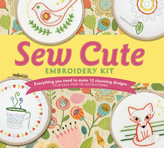 Sew Cute Embroidery Kit