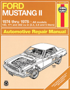 Ford Mustang II, 1974-1978