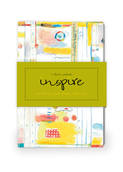 Inspire Artwork by Sarah Ahearn Bellemare Journal Collection 1