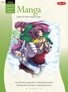 Drawing: Manga Learn to draw step by step