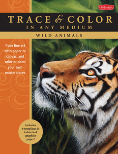 Wild Animals Trace line art onto paper or canvas, and color or paint your own masterpieces