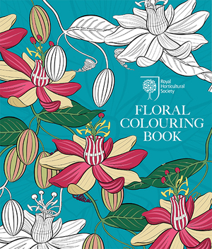 RHS Floral Colouring Book