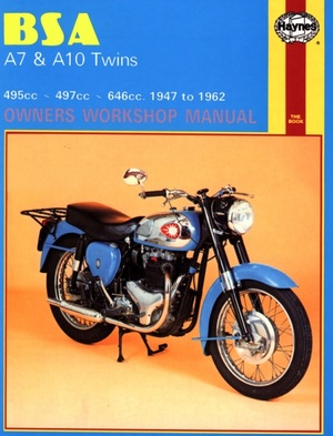 BSA A7 and A10 Twins Owners Workshop Manual, No. 121