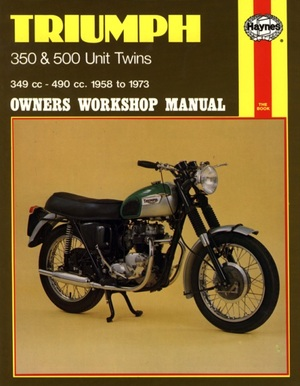 Triumph 350 and 500 Unit Twins Owners Workshop Manual, No. 137