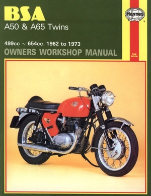 BSA A50 & A65 Twins Owners Workshop Manual