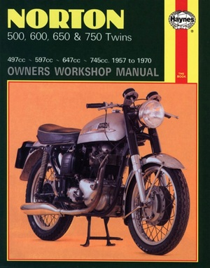 Norton 500, 600, 650 and 750 Twins Owners Workshop Manual, No. 187