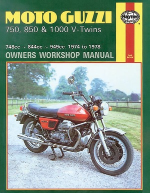 Moto-Guzzi 750, 850 and 1000 V-Twins Owners Workshop Manual, No. M339