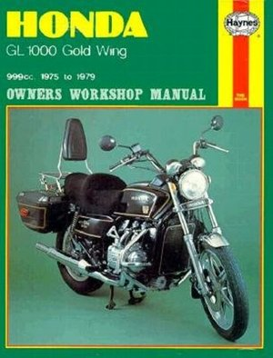 Honda GL1000 Gold Wing Owners Workshop Manual, No. M309
