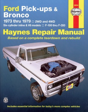 Ford Pickups and Bronco, 1973-1979