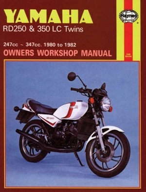 Yamaha RD250 and RD350 LC Twins Owners Workshop Manual, No. 803