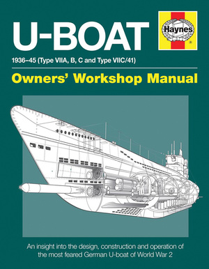U-Boat 1936-45 (Type VIIA, B, C and Type VIIC/41)