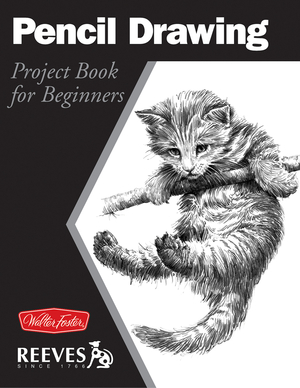 Pencil Drawing Project book for beginners