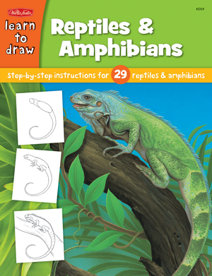 Learn to Draw Reptiles & Amphibians