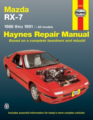 Mazda RX-7 1986 thru 1991 - All models