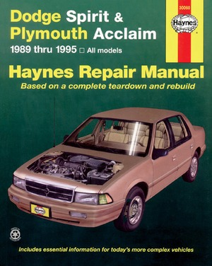 Dodge Spirit and Plymouth Acclaim, 1989-1995