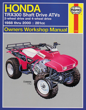 Honda TRX300 Shaft Drive ATVs