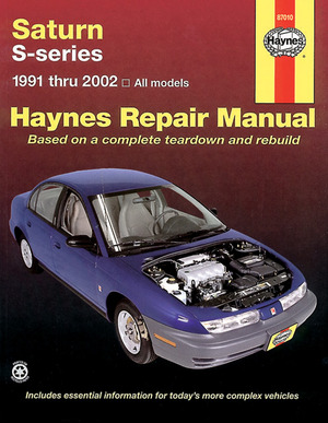 Haynes Saturn S-Series 1991 thru 2002
