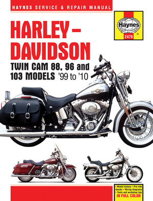 Harley-Davidson  Twin Cam 88, 96 and 103 Models '99 to '10