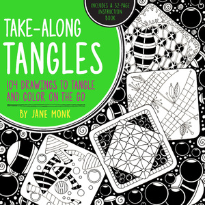Take-Along Tangles 104 Drawings to Tangle and Color on the Go
