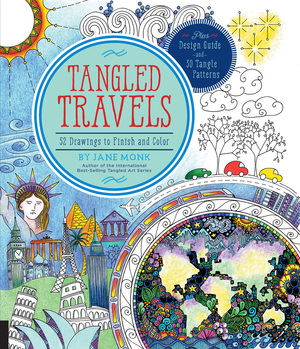 Tangled Travels 52 Drawings to Finish and Color