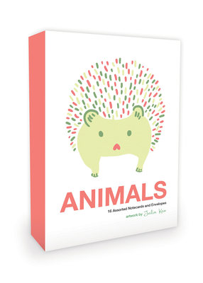 Animals Note Cards Artwork by Julia Kuo