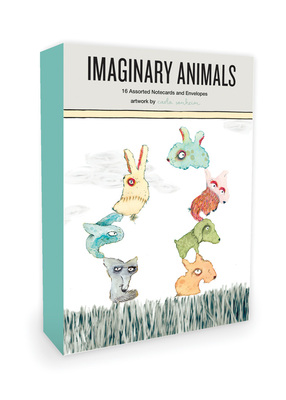 Imaginary Animals 16 Assorted Notecards and Envelopes