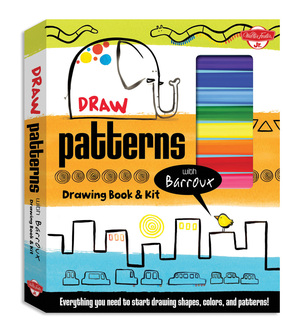 Draw Patterns with Barroux Drawing Book & Kit