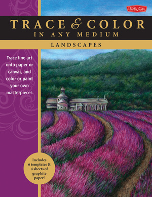 Landscapes Trace line art onto paper or canvas, and color or paint your own masterpieces