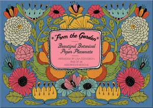 From the Garden - Beautiful Botanical Paper Placemats