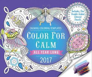 Color for Calm All Year Long 2017