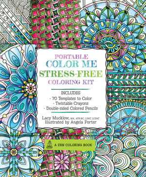 Portable Color Me Stress-Free Coloring Kit