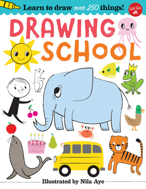 Drawing School Learn over 500 things to draw, step-by-step drawing that's easy and fun!