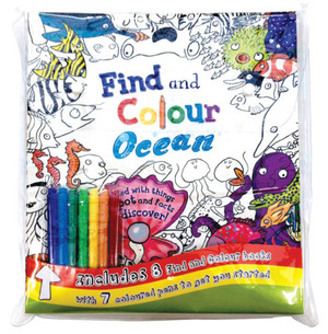 Find & Colour: Bag Collection – 8 Books