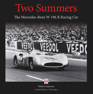 Two Summers The Mercedes-Benz W 196 R Racing Car - Limited Edition of 1500 Copies