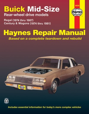 Buick Mid-Size Models Manual