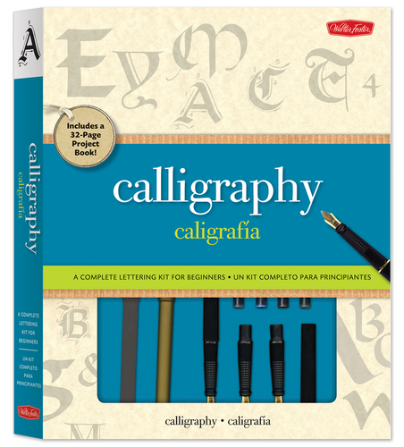 Calligraphy Kit A Complete Kit For Beginners Quarto