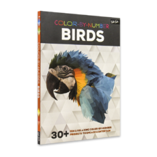 Color-by-Number: Birds 30+ fun & relaxing color-by-number projects to engage & entertain