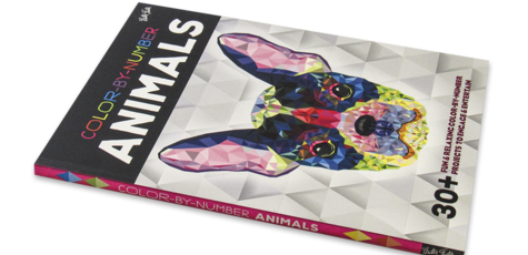Color-by-Number: Animals 30+ fun & relaxing color-by-number projects to engage & entertain