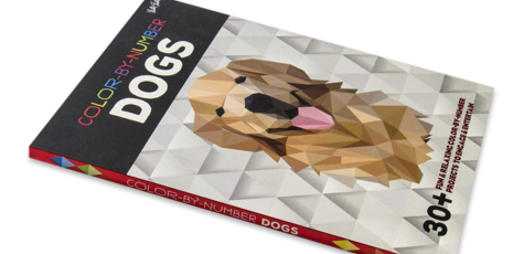 Color-by-Number: Dogs 30+ fun & relaxing color-by-number projects to engage & entertain